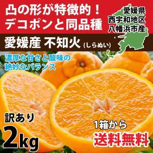 デコポン 同品種 みかん 不知火 訳あり 約2.5kg 濃厚 2セット購入で1kg増量 3営業日以内に出荷|mikan-hana