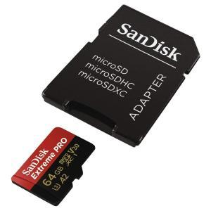 SanDisk ( サンディスク ) 64GB microSD Extreme PRO microS...
