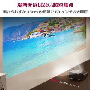LG PH450UG 超短焦点 バッテリー内蔵 LEDプロジェクター(寿命約30,000時間/HD/450lm/1.1kg)|mikannnnnn