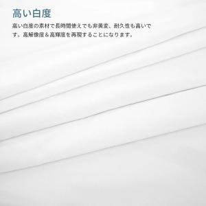 Ceyo プロジェクタースクリーン 投影用 会議 教室 映画 ホームシアター 適用 軽便 持ち運び 洗濯可能(16:9&4:3 100/12|mikannnnnn