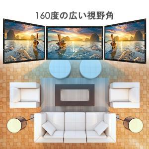 ELEPHAS 100インチ スクリーン 16:9 折り畳み可 プロジェクター投影用 持ち運び ホームシアター スクリーン 軽便 会議 教室|mikannnnnn