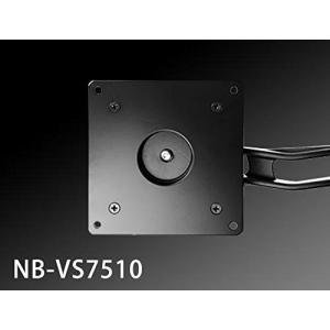 NBROS モニターアーム用 VESA規格変換プレート 75mm → 100mm NB-VS7510|mikannnnnn