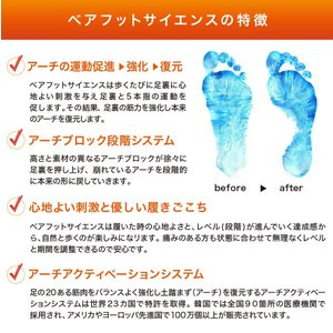 Barefoot Science インソール7段階 上級用 フルタイプ (フルタイプ Lサイズ)