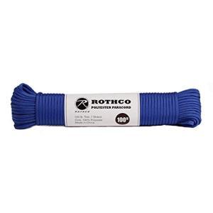 ロスコROTHCO ポリエステル パラコード rothco11 30m 3.ロイヤルブルー(ROYA...