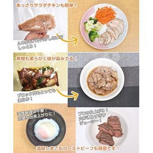 簡単に低温調理ができる「マスタースロークッカー」 SOVDCOOK 日本語マニュアル付き サンコーレ...