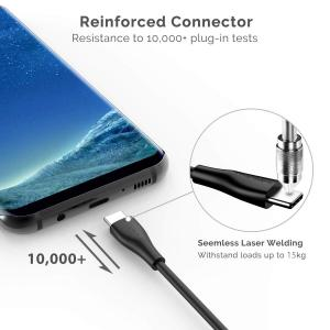 USB C ケーブル UNBREAKcable USB Type C ケーブル USB3.0 2m 急速充電 Galaxy S8/S8+、S mikannnnnn
