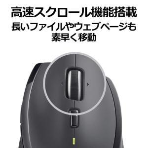 Logicool ロジクール ワイヤレスマラソンマウス M705m 7ボタン 快適形状 Mac/Wi...