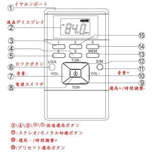 ポータブルラジオ 小型FM高感度 クロックラジオ?DSPステレオ デジタルLCD液晶ディスプレ電池式 ロック機能 両色選択可 (グレー)|mikannnnnn