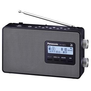 パナソニック ラジオ FM/AM/ワンセグTV音声 3バンド ワイドFM対応 ブラック RF-U180TV-K|mikannnnnn