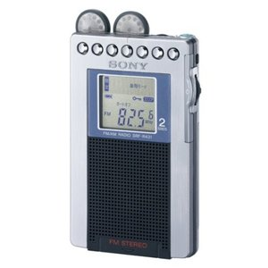 SONY FMステレオ/AMポケッタブルラジオ R431 シルバー SRF-R431/S|mikannnnnn