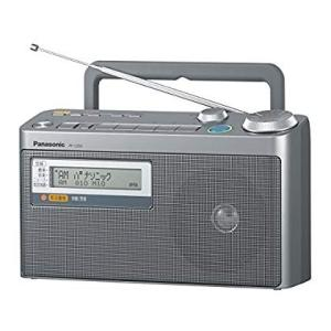 パナソニック FM緊急警報放送対応FM/AM2バンドラジオ RF-U350-S|mikannnnnn