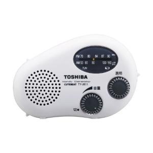 TOSHIBA 防水充電ラジオ CUTEBEAT TY-JR11(W)