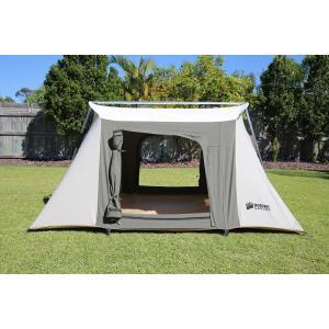 コディアックキャンバス Kodiak Canvas Flex-Bow コットンテント グランピングテント 大型 テント ファミリー キャンプ|mikannnnnn