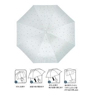 KIZAWA 傘 ワンタッチ 自動開閉 折りたたみ傘 レディース傘 高強度 グラスファイバー 雨傘 ...