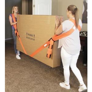 iMagitek 運搬ベルト 2本セッ(2組作業手袋付き)家具移動 グッズ キャリーベルト 引っ越し...