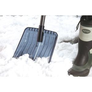 コンパル 除雪スコップ 車載&ハウスくん(83cm)