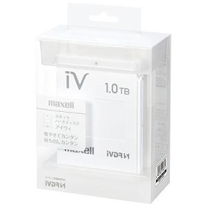 マクセル iVDR-S規格対応リムーバブル・ハードディスク 1.0TB(ホワイト)maxell カセットハードディスク「iV(アイヴィ)」|mikannnnnn