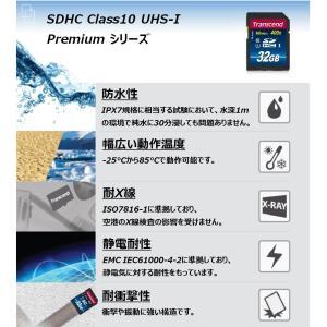 Transcend SDHCカード 32GB Class10 UHS-I対応 TS32GSDU1