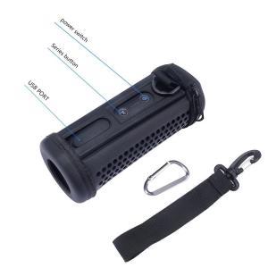 NiceCool JBL Flip3 /Flip 4 防滴のBluetoothスピーカー用のハードEVA保護ポーチバッグ|mikannnnnn