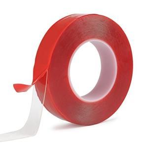 TIMESETL 車 両面テープ 透明 超強力 厚手 強粘着テープ 耐熱性 防水 多用途 30mm×...