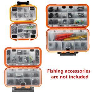 釣り針おもりサルカン仕掛け小物入れ タフな 万能 耐久性 抜群 防水 ケース SD、CFカード、ネジ、ワッシャーナット、釣り針 おもり サル|mikannnnnn