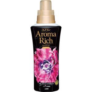 ソフラン アロマリッチ 柔軟剤 ジュリエット(スイートフローラルの香り) 本体 600ml