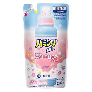 花王ハミングNeo ベビーパウダーの香り詰替え 320ml ×5個セット|mikannnnnn
