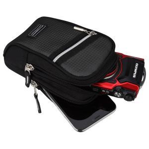 HAKUBA デジタルカメラケース ピクスギア CS カメラポーチ L ブラック SPG-CS-CPLBK|mikannnnnn
