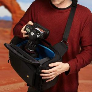 Case logic 大型 スリングバッグ/ワンショルダー Luminosityシリーズ 14.8L ブラック DSS-103 BLACK|mikannnnnn