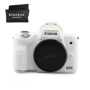 kinokoo CANON EOS Kiss M/EOS M50 デジタルカメラ専用 シリコンカバー カメラケース カメラカバー シンプル|mikannnnnn