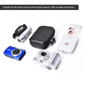 FOSOTO デジタルカメラ セミハードケース for スマホプリンター INSPIC PV-123 HDDケース ケーブル収納 EVA保護|mikannnnnn