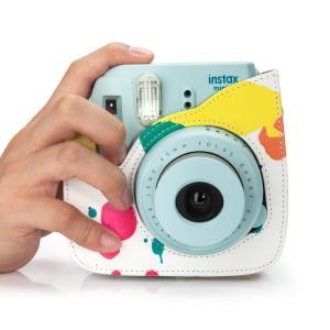 Fujifilm チェキinstax mini 8 プラス ケース― Woodmin FUJIFILMインスタントカメラ チェキinstax|mikannnnnn