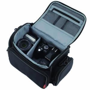 NAKABAYASHI ショルダーバッグ Digio2 一眼レフカメラバッグ 2.5L ブラック DCB-003BK|mikannnnnn