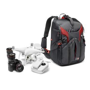 Manfrotto カメラリュック Pro-lightコレクション 24L 三脚取付可 PC収納可 レインカバー付属 ブラック MB PL-|mikannnnnn