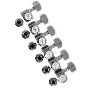 Fender(フェンダー) Locking Tuners ギター・ペグ (クローム) [輸入品]