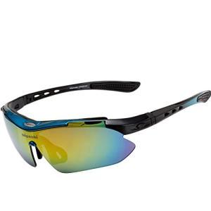 HIGASHI スポーツサングラス 国内正規品 偏光レンズ 国内検査済 UV400 紫外線99%カッ...