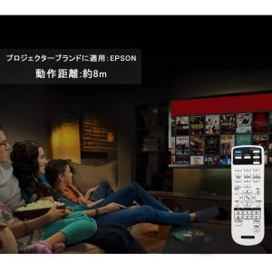 EachLight 1547200 リモコン Epson エプソン EB-S04 EH-TW6700...