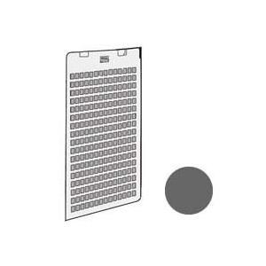 シャープ 加湿空気清浄機用 後ろパネル<グレー系>(280 158 0815)  対応機種 KC-G...