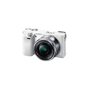 【カメラポーチ付き】SONY[ソニー] ILCE-6000L パワーズームレンズキット ホワイト|mikasacamera