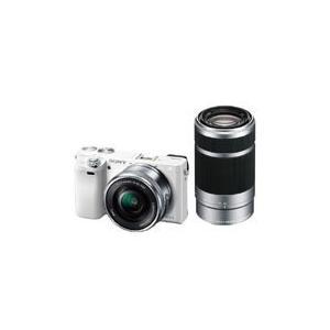 【カメラポーチ付き】SONY[ソニー] ILCE-6000Y ダブルズームレンズキット ホワイト|mikasacamera