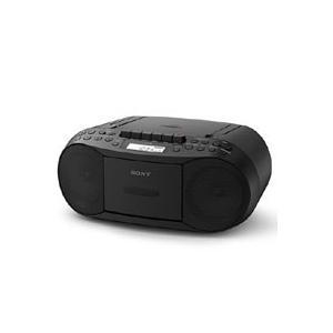 カセットテープでの録音再生が楽しめる、かんたん操作のコンパクトCDラジカセ  ●ラジオ、CD、カセッ...