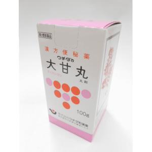【第2類医薬品】ウチダの大甘丸100g(1340丸)×4個送料無料