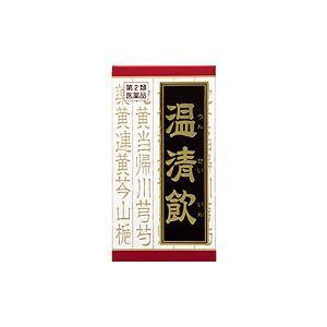 【第2類医薬品】温清飲エキス錠クラシエ180錠×3個送料込