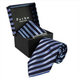 Furbo design ネクタイ&タイバー&カフス&チーフ 4点SET40821078501color6-733482-408|mikawatk