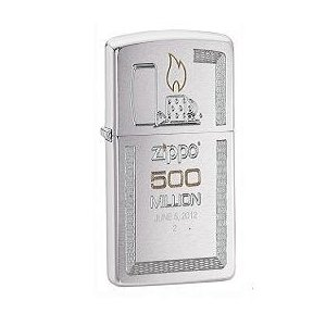 500ミリオン達成記念 限定ジッポ.|mikawatk