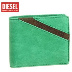 ディーゼル diesel 男女兼用小銭入付二つ折れ財布 dieselx00450 |mikawatk