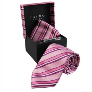 Furbo design ネクタイ&タイバー&カフス&チーフ 4点SET441F2177Acolor3-733805-441 mikawatk