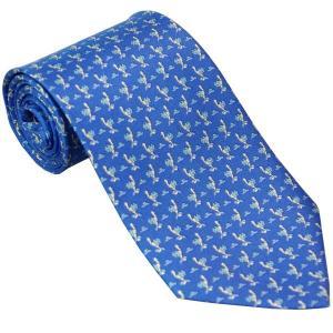 Ferragamo フェラガモ ネクタイ fegnek0529586x9 ブルー系|mikawatk