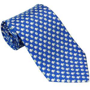 Ferragamo フェラガモ ネクタイ fegnek0532834x5 ブルー系|mikawatk