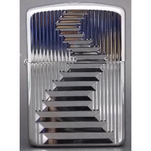 US Zippo 3面 ダイアモンドカット銀|mikawatk